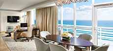 Miami Oceanview Hotel Suite