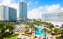 View Of Fontainebleau Miami Beach