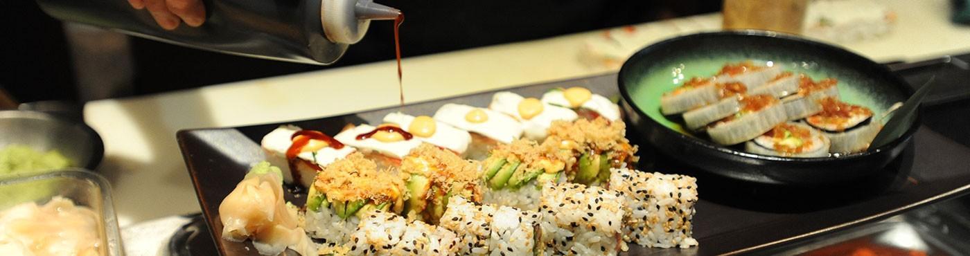 Restaurante de sushi em Miami Beach