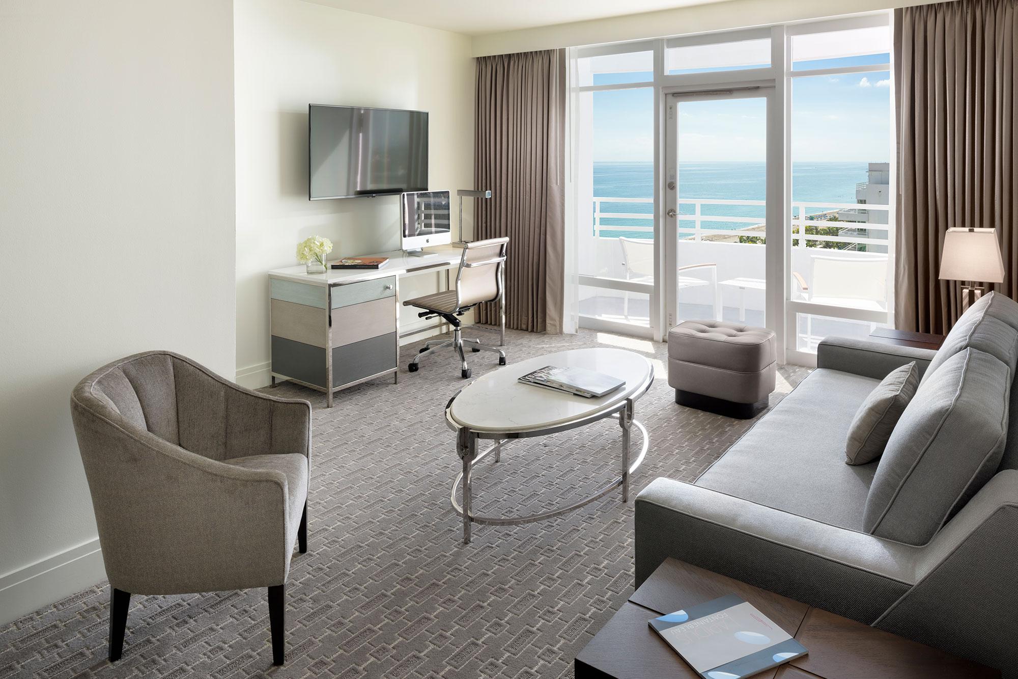 Bay View Junior Suite con balcón 2