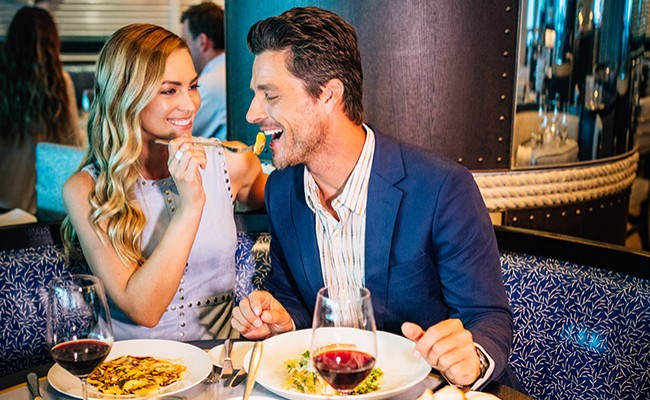 Cena con maridaje de vinos en Scarpetta