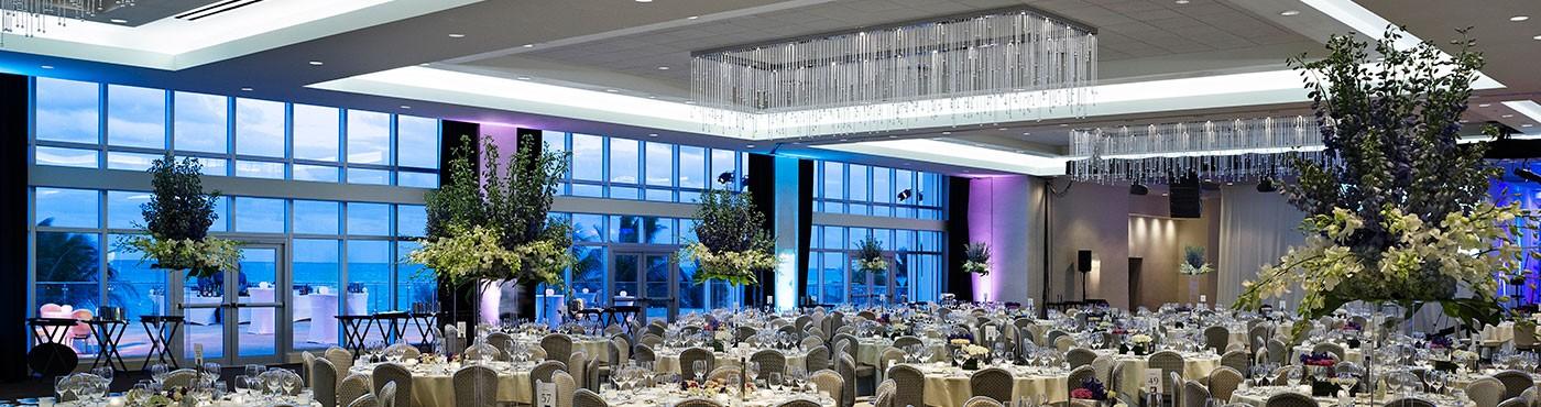 Sala de reuniones amplia en Miami Beach